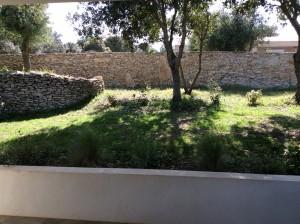 Vue depuis terrasse extérieure