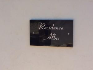 Entrée Résidence